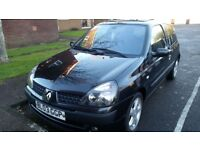 RENAULT CLIO DIESEL, LONG MOT, SERVICE HISTORY, CHEAP ON FUEL TAX, CD ALLOY BIG BOOT TIDY £555ONO