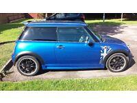 mini cooper s 2005 in hyper blue fsh