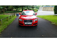 2008 (58) Audi A3 1.9 Tdi (104bhp) Sportback Red Facelift 5 Speed