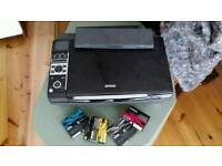 Scanner printer epson sx400