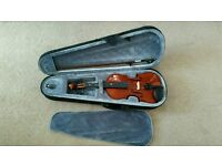 Stagg (Marc Lepage) 1/2 size Violin with case