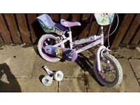 """14"""" Disney Princess Bike"""