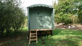 Shepherds hut, quality product, newly built