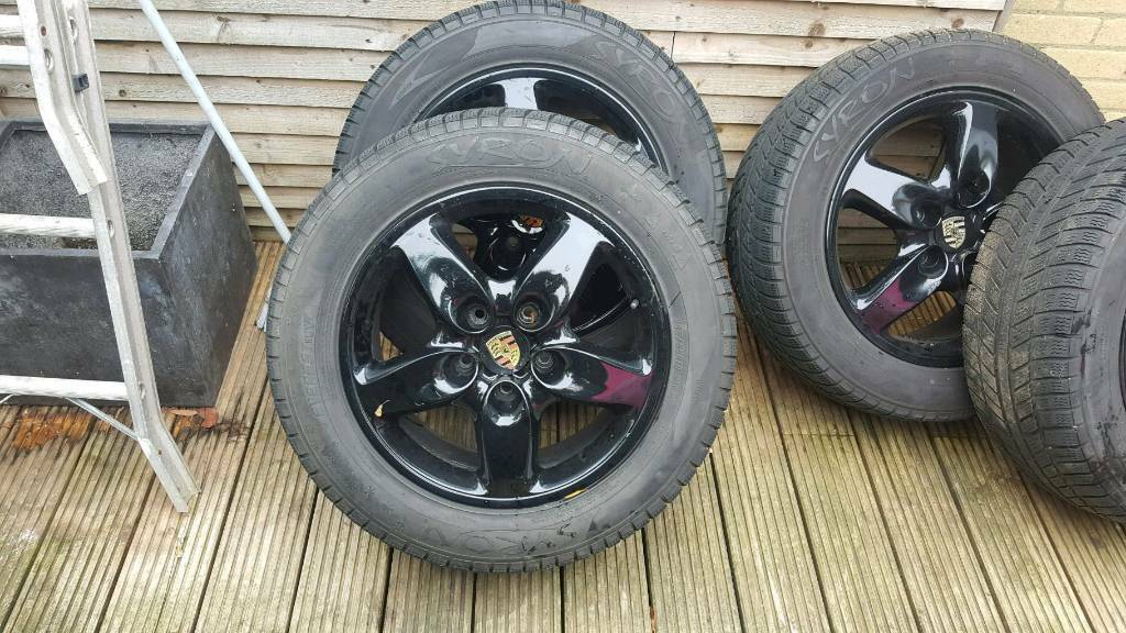 PORSCHE cayenne alloy wheels