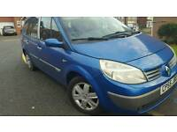 Renault grand scienic 1.6 2005 low mileage. TAX AND MOT.