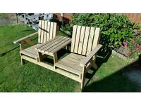 Garden bench / table / chair / seat / furniture.