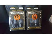 6L6R #5 Matched Groove Tubes x2