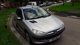 Peugeot 206lx 1.4
