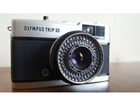 Olympus Trip 35 Point and Shoot Vintage Film Camera.