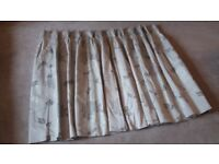 Laura Ashley Isadore truffle curtains