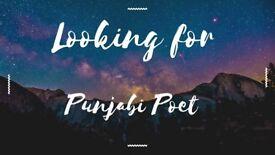 Punjabi Poet / Punjabi Lyricist need for punjabi Songs