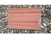 400 Red Roof Tiles (Sandtoft) Brand New