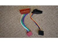 Dual ISO harness Ford for car stereo