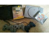 PS2 and PS1 Games Console