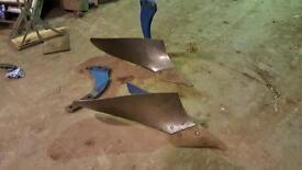 Plough parts for sale.
