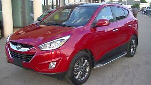 2015 Hyundai Tucson GLS AWD WITH MOONROOF, LEATHER/CLOTH