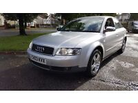 offers welcome- Audi a4 1.9 TDI 6 speed 130BHP, FULLY LOADED, long MOT, F.S.H. and ONLY 1 owner
