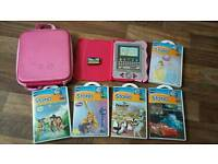 Vtech Storio System, 6 games plus backpack