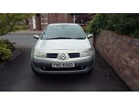 Renault Megan 2004 for sale excellent condition quick sale as no longer any need for it