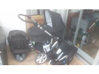 Britax travel system and isofix base