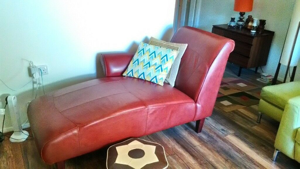 Retro chair Chaise longue | in Leicester, Leicestershire | Gumtree on chaise furniture, chaise sofa sleeper, chaise recliner chair,