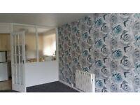 one bedroom spacious flat over looking garden