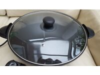 Cookshop Electric Wok 33cm NEW with booklet.
