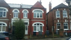 Two double bedroom split level apartment on the ground floor of this semi-detached building