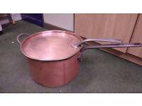 Big Copper Antique Pot