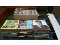 Vinyl records lp job lot
