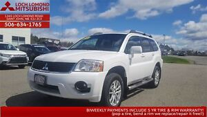 2011 Mitsubishi Endeavor SE loaded 4WD for only $149 B/W