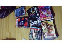Batman / Spiderman / X-men comic books