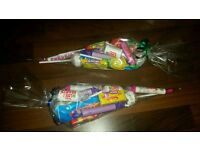 Sweet cones - great for kids to take home from parties
