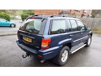 JEEP GRAND CHEROKEE SPORT DIESEL AUTO 4x4 tow bar, roof bars