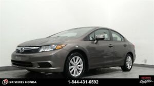 2012 Honda Civic EX mags toit ouvrant bluetooth