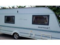 4 berth touring caravan