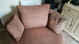 Cuddle Swivel Chair. Free, buyer collects or can deliver portsmouth £10