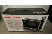 Morphy Richards glass toaster