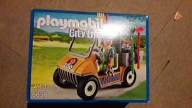 Playmobil Zoo Keepers Truck like new