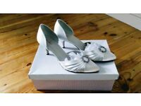 Satin shoes - John Lewis (wedding)