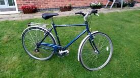 MEN'S BIKE BICYCLE + CHAIN LOCK