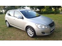 2007 KIA CEE'D 1.6 LS 5DR AUTOMATIC MOT SEPT 2018 S/HISTORY 2 KEYS H/LEATHER EXCELLENT RUNNER