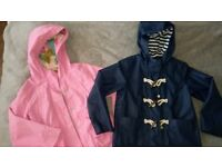 Two girls spring jackets from Next. Age 6 & 7-8. Used, great condition.