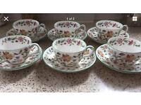 Minton cups and saucers