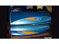 Used Commerical Soltron Shark Sunbed in excellent condition.