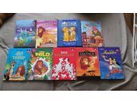 A Selection of Children's Disney Hard Back Books