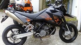 KTM 950 Supermoto. swap or p/x anything Considered.