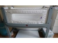 SnüzPod 3-in-1 Bedside Crib with Mattress - Kentish Town