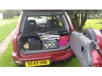 £500 ono. Honda crv. MOT APRIL 2017. Great runner. row with a railing. damage to passenger side.