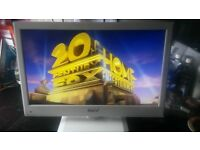 """baird 22"""" led tv dvd combi with remote."""